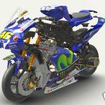 presentazione 3d De Agostini moto valentino