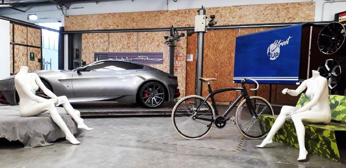 UPdesign Alfa Romeo Mole presentazione